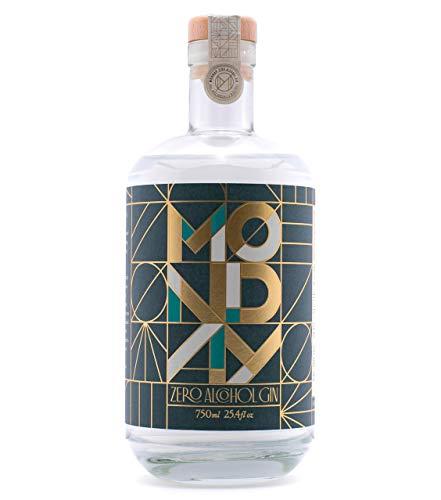 MONDAY Zero Alcohol Gin – A Non-Alcoholic Spirit for the Spirited Ones - 750ml