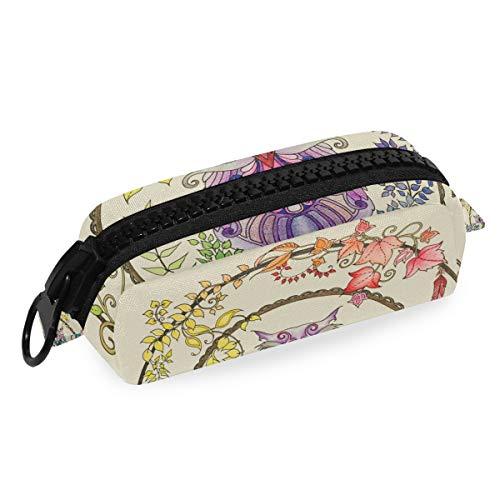 DEZIRO Make-up-Tasche für Reisen, Kosmetiktasche, Eulen-Traumfänger, für Damen und Mädchen, Make-up-Pinsel-Tasche