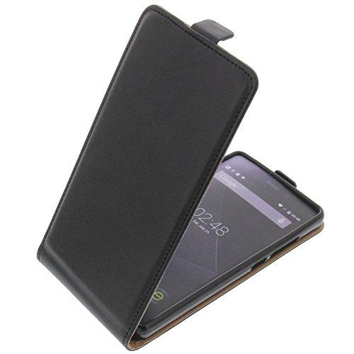 foto-kontor Tasche für Doogee X5 Smartphone Flipstyle Schutz Hülle schwarz