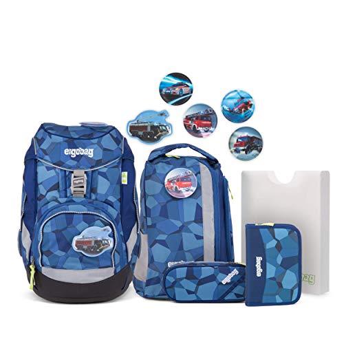 Ergobag Pack TatütaBär, ergonomischer Schulrucksack, Set 6-teilig, 20 Liter, 1.100 g, Blau