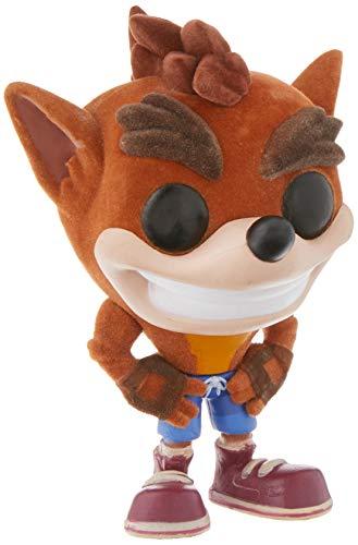 Funko - Figurine Crash Bandicoot - Crash Flocked Exclu Pop 10cm - 0889698256438