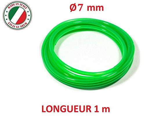 sourcingmap/® Red Moto universel silicone transparent flexible carburant essence tuyau Tube huile 18m long