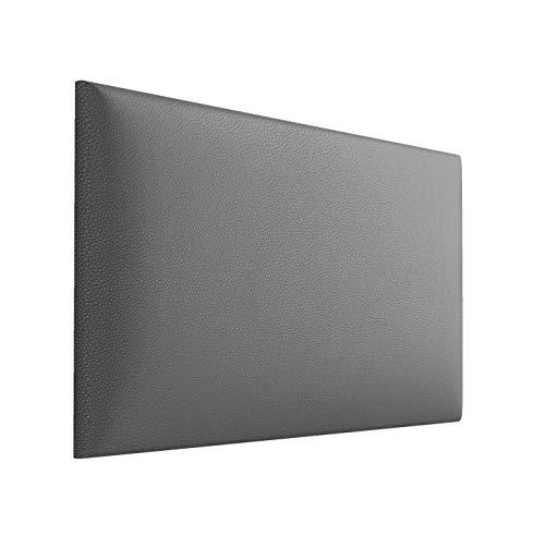 Jerpax Imbottitura da parete 3D in ecopelle – Pannello da parete con imbottitura da 50 mm – Imbottitura da parete con fissaggio a parete – Cuscino da parete con strisce di montaggio