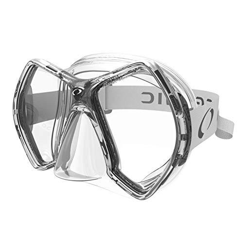 Oceanic Cyanea Ultra Scuba Mask - Clear Lens - Clear/Gray
