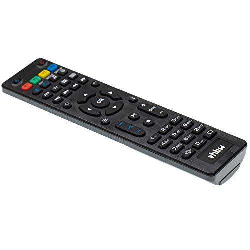vhbw Fernbedienung passend für Aura HD International SE (Second Edition), HD Plus Streaming-Box, Internet-TV Box - Ersatzfernbedienung