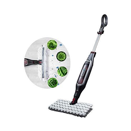 Z-Color Steam Mop Boden Steamers for Laminatböden, Teppichboden-Steamer, Bodendampfreiniger Hartboden, 380ml Wassertank, 20S Schnelle Heizung