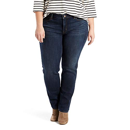 Levi's Women's Plus-Size Classic Straight Jeans, Thistle Lake, 40 (US 20) R