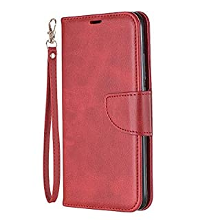 Lomogo Xiaomi Redmi 7 / Y3 Case Leather Wallet Case with Kickstand Card Holder Shockproof Flip Case Cover for Xiaomi Redmi7 / Redmi Y3 - LOBFE150644 Red (B07TP2BBY8) | Amazon price tracker / tracking, Amazon price history charts, Amazon price watches, Amazon price drop alerts