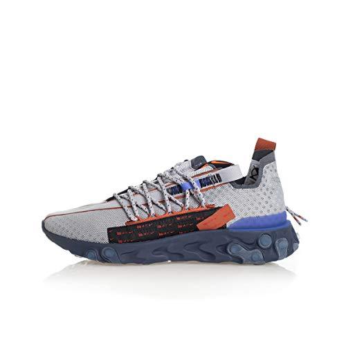 Nike React ISPA Uomo Running Trainers CT2692 Sneakers Scarpe (UK 6 US 6.5 EU 39, Wolf Grey Dusty Grey 001)