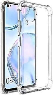 Crystal Clear Case for Huawei nova 7i / nova 6 SE / P40 Lite hard Case Cover Protective Shock Absorption Bumper soft Trans...