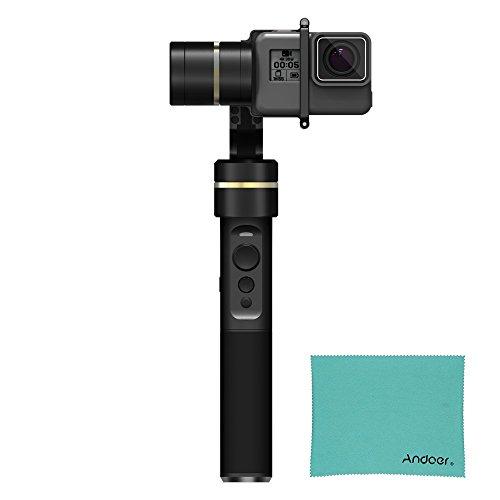 Feiyu, giunto cardanico G5 a 3 assi per telecamera sportiva, stabilizzatore portatile, impermeabile, disegnato per GoPro Hero5, Hero4, Hero3, telecamera Yi 4 K, AEE e altre telecamere sportive
