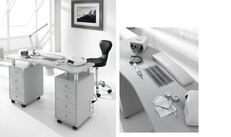 La mejor mesa para manicuras profesionales.