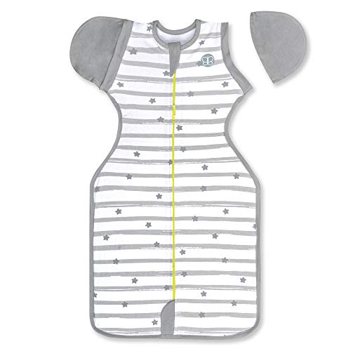 bblüv - Sleëp - 3-in-1 Evolutive Swaddle with Removable Sleeves - Safe Transition Bag (Small)