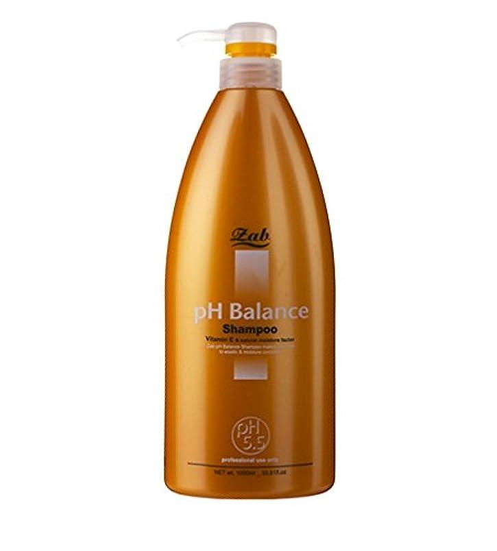 飛ぶ昼寝虫[MONALIZA/モナリザ] zab PH Balance Shampoo 1000ml/ジャブPHバランスシャンプー(海外直送品)