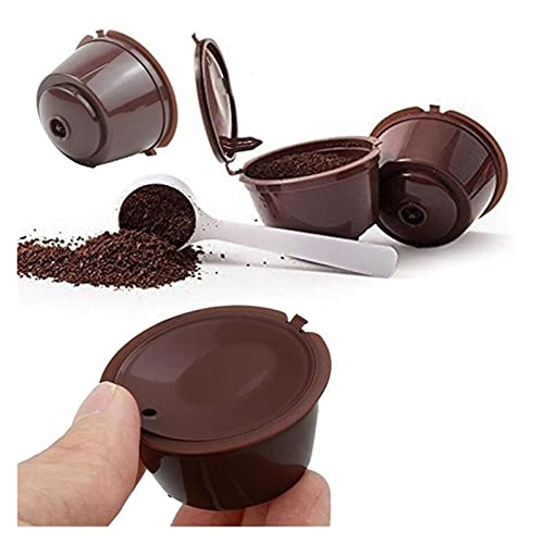 Filtro de café Máquina de café 1 unids Filtro de taza de café de la cápsula reutilizable para el colador de taza de café recargable para D-OLC-E G-UST-O Respetuoso con el medio ambiente y duradero.