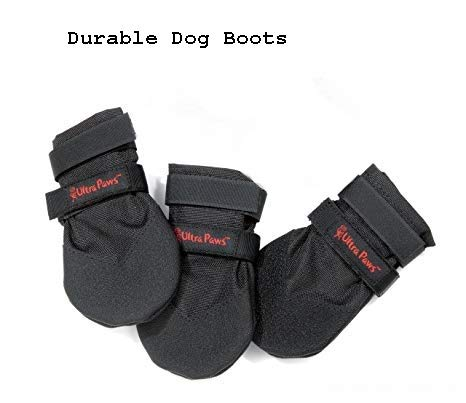 Ultra Paws Durable Dog Boots, Option:S