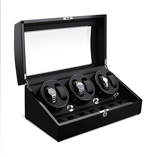 Mr.LQ Shaker Multi-Tisch Lagerung mechanische Uhr Plattenspieler Schaukel nach Hause automatische Wicklung Uhrenbox elektrisch