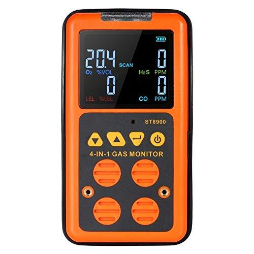 no-branded Hand 4 in 1-Gas-Detektor 0-999ppm LCD Display Vibrationsalarm Digitale Gas-Detektor-Prüfvorrichtung XXYHYQHJD