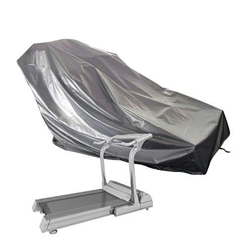 Honeyhouse Funda protectora para cinta de correr para correr, resistente al polvo, resistente al agua y a los rayos UV, tejido Oxford 210D para interiores o exteriores