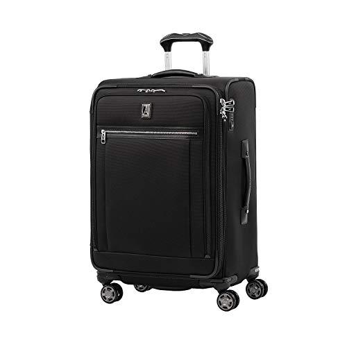 Travelpro Platinum Elite Großer Weichgepäck Spinner Koffer 4 Rollen 71x47x30 cm Erweiterbar Langlebig mit TSA Schloss 97 Liter Magnet Schwenkräder Nylon...