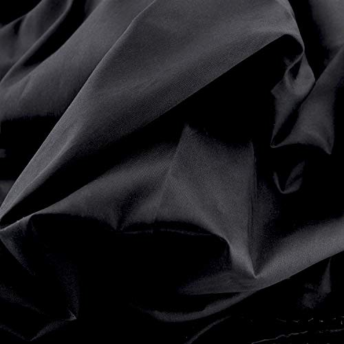 Pre-Cut Quilting Cotton Black Color Fabric,Good Quality Craft Cloth,DIY for Sewing Crafting 61' by 1 Yard Rose Flavor