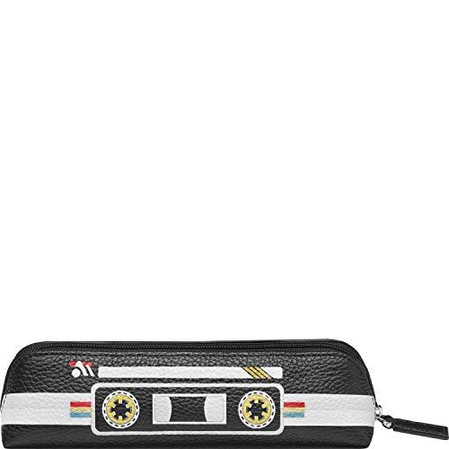 Montblanc - Estuche para 2 instrumentos de escritura con cremallera superior Mix Tapes Meisterstück Soft Grain: Amazon.es: Oficina y papelería