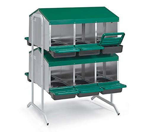 clasificación y comparación FINCA CASARE JO Sala para gallinas ponedoras.  Embrague de huevos eco 12 huecos pack de pilas para casa