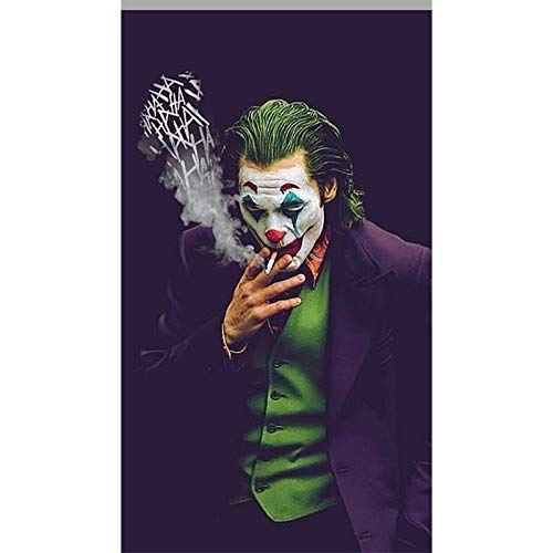 Wandkunst Bild Poster Joker Wandkunst Leinwand Malerei Wanddrucke Bilder Film für Wohnkultur 50X90 cm ohne Rahmen Yhz3889