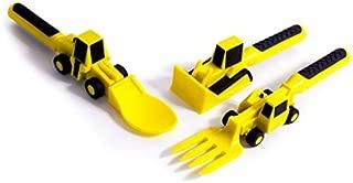 幼児、乳幼児、乳幼児のための建設用食器の建設的な食べ物セット - 安全かつ楽しい食事のためのFDA認可材料を用いた食器玩具