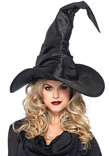 Leg Avenue Women's Large Ruched Witch Hat, One Size