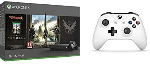 Microsoft Xbox One X - Consola 1 TB + División 2 + Microsoft ...