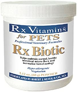 (Ship from USA) Rx Vitamins for Pets - Rx Biotic 2.12 oz. - Probiotics for Digestive Health .ITEM-NO/EGB41S-1GFT8213