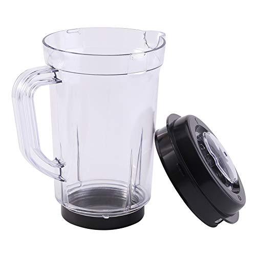 Mezclador de jarra con tapa, licuadora licuadora Piezas de repuesto de plástico...