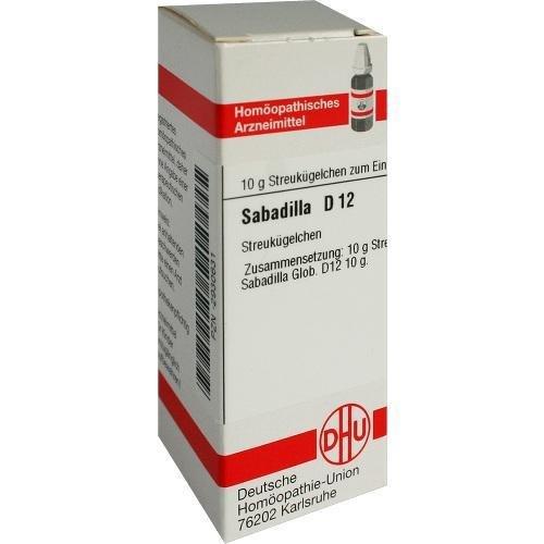 SABADILLA D 12 Globuli 10 g