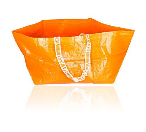Ikea Family Tasche KRITSA orange seltene Sonderedition RAR identisch mit FRAKTA Tüte 71l