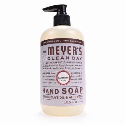 MRS MEYER''S 11104 Lavender Scent Liquid Hand Soap, 12.5-oz. - Quantity 6