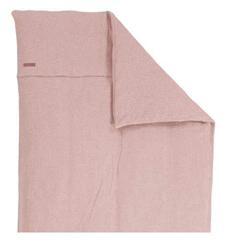 LITTLE DUTCH TE10430150 Kinderwagen Kissenbezug pure rosa Größe: 80 x 80 cm