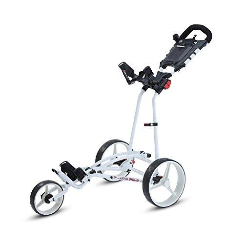BigMax Ti 1000 Autofold+ Golf Trolley, unisex - erwachsene, Bigmax Ti 1000 Autofold +, weiß