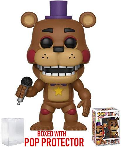 Funko Pop! Games: Five Nights at Freddy's Pizza Simulator - Figura de vinilo de Rockstar Freddy (con...