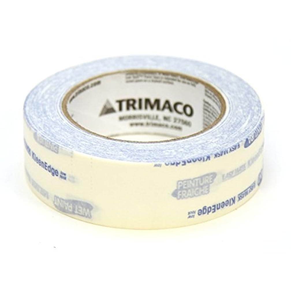 Trimaco 591360 KleenEdge Low Tack Painting Tape, 1.5-inch x 60-Yard