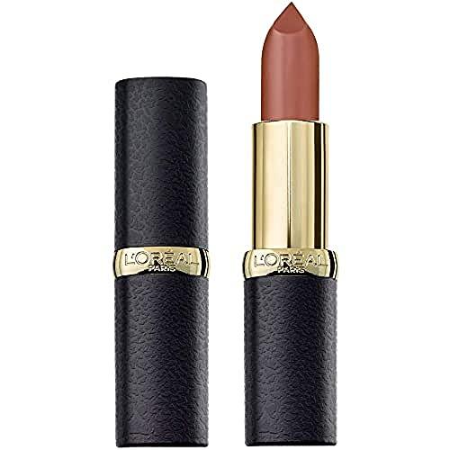 L'Oréal Paris Color Riche Matte 636 Mahogany Studs, matter Lippenstift mit pflegenden Ölen, cremige Textur für maximalen Lippenkomfort