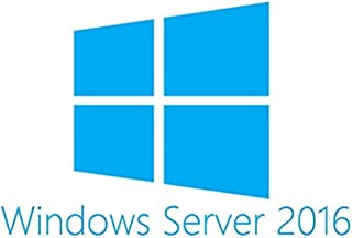 Microsoft Windows Server 2016 Standard - Sistemas operativos (Fabricante de equipos originales (OEM), 32 GB, 0,512 GB, 1,4 GHz, Alemán, DVD)
