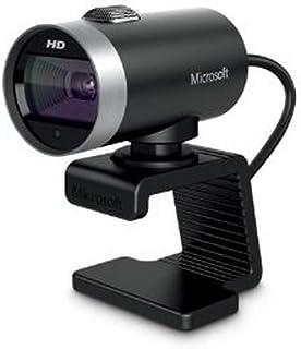 Microsoft 6CH-00002 LifeCam Cinema Webcam couleur audio Hi Speed USB noir/argente