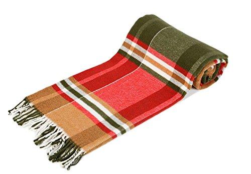 Arus - Manta para Cama y Sofás, 150 x 200 cm, Aprox. 60% algodón, 40% poliéster, Green Label