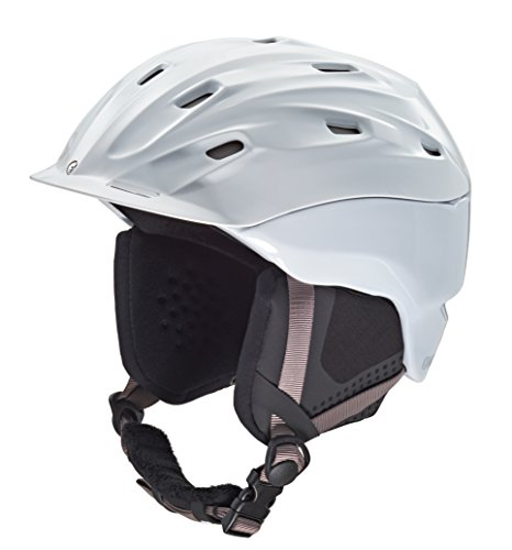 Carrera Damen Skihelm Mauna, White, 55-59