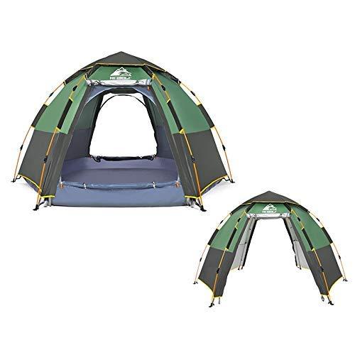 Muzi und Wolf 1789 Outdoor Camping sechseckig automatische Regendichte Zelt, ultimative Version Muzi Zelt