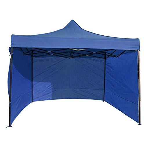 weichuang Außenzelt Outdoor-Camping-Zelt Zubehör Gazebo Side Panel Durable Sidewall Anti-UV Oxford Cloth Zelt (Color : Blue 1)
