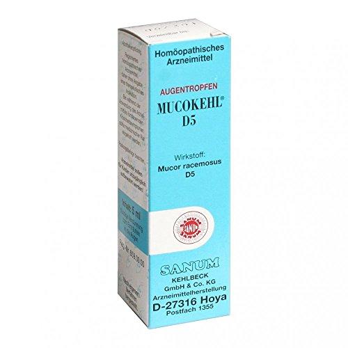 MUCOKEHL Augentropfen D 5 5 ml
