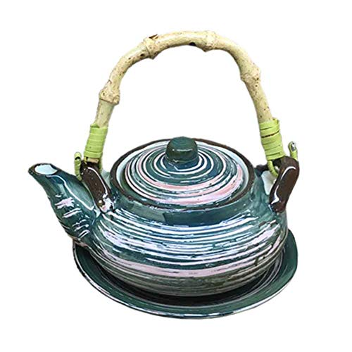 BLANCHO BEDDING Exquisito Destacado Multiusos Estilo Japonés Porcelana Tetera Sopa Olla 9#