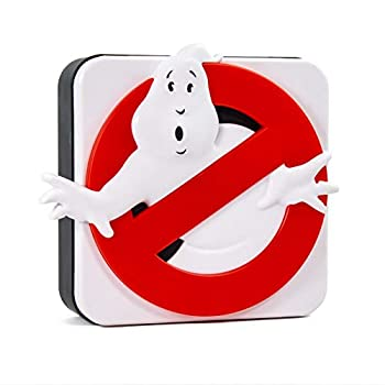 Numskull Official Ghostbusters Logo 3D Desk Lamp Wall Light for Bedroom Office Home Study Work